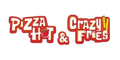 Pizza hot & crazy fries
